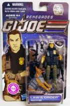 G.I.JOE 2011 - 30 Years series - Law & Order \'\'Renegades\'\' (Police K-9 Unit)