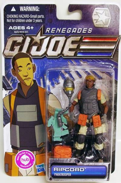 G.I.JOE 2011 - 30 Years series - Ripcord \'\'Renegades\'\' (Paratrooper)