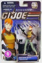 G.I.JOE 2011 - 30 Years series - Scarlett \'\'Renegades\'\' (Undercover Agent)