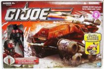 G.I.JOE 2011 - Cobra Crimson H.I.S.S. Tank with Cobra Crimson Horseman