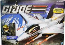 G.I.JOE 2011 - Combat Jet Skystriker XP-21F with Capt. Ace