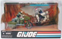 G.I.JOE 25ème Anniversaire - 2008 - RAM Cycle & Breaker vs. Cobra Flight Pod & Tele-Viper