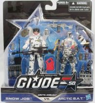 G.I.JOE 50th - 2014 - Arctic Ambush  Snow Job & Arctic B.A.T.