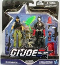G.I.JOE 50th - 2015 - Hunt for Cobra Commander  Shipwreck & Cobra Commander