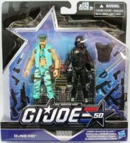 G.I.JOE 50th - 2015 - Marine Devastation  Gung-Ho & Cobra Shadow Guard