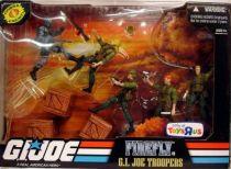 G.I.JOE ARAH 25th Anniversary - 2008 - Battle Pack - Firefly vs. G.I.Joe Troopers