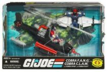 G.I.JOE ARAH 25th Anniversary - 2008 - Cobra F.A.N.G. & C.L.A.W. with Cobra Viper & Pilot
