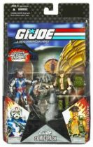 G.I.JOE ARAH 25th Anniversary - 2008 - Comic Pack - Cobra Commander & Gung-Ho : \\\'\\\'Maneuvering for position\\\'\\\'