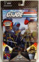 G.I.JOE ARAH 25th Anniversary - 2008 - Comic Pack - Cobra Commander & Tripwire : \\\'\\\'Explosive Thoughts\\\'\\\'