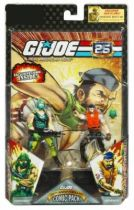 G.I.JOE ARAH 25th Anniversary - 2008 - Comic Pack - Copperhead & Shipwreck : \\\'\\\'Security Shield\\\'\\\'