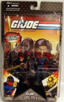 G.I.JOE ARAH 25th Anniversary - 2008 - Comic Pack - Iron Grenadier & Destro : \\\'\\\'Move and Countermove\\\'\\\'