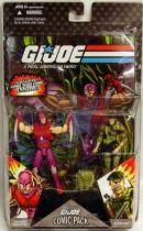 G.I.JOE ARAH 25th Anniversary - 2008 - Comic Pack - Nemesis Immortal & Lt. Falcon : \\\'\\\'Showdown at the top of the world\\\'\\\'