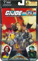 G.I.JOE ARAH 25th Anniversary - 2008 - Comic Pack - Scarlett & Hawk : \'\'Operation : Lady Doomsday\'\'