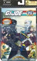 G.I.JOE ARAH 25th Anniversary - 2008 - Comic Pack - Snake Eyes & Storm Shadow : \\\'\\\'Silence between borders\\\'\\\'