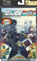 G.I.JOE ARAH 25th Anniversary - 2008 - Comic Pack - Snake Eyes & Storm Shadow : \'\'Silence between borders\'\'