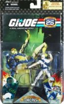 G.I.JOE ARAH 25th Anniversary - 2008 - Comic Pack - Snake Eyes & Storm Shadow : \\\'\\\'Silent Interlude\\\'\\\'
