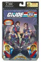 G.I.JOE ARAH 25th Anniversary - 2008 - Comic Pack - Tomax & Xamot : \'\'Bad day at the Circus\'\'