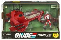 G.I.JOE ARAH 25th Anniversary - 2008 - Firebat Jet & A.V.A.C.