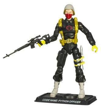 G.I.JOE ARAH 25th Anniversary - 2008 - Python Officer (Python Patrol)