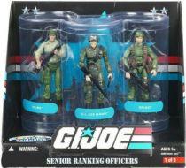 G.I.JOE ARAH 25th Anniversary - 2008 - Senior Ranking Officers - Duke, Hawk, Grunt