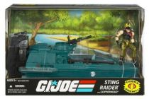 G.I.JOE ARAH 25th Anniversary - 2008 - Sting Raider & Python Copperhead