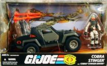 G.I.JOE ARAH 25th Anniversary - 2009 - Cobra Stinger Jeep & Stinger Commander