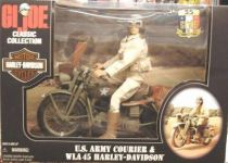 G.I.JOE Classic Collection - U.S. Army Courier & WLA 45 Harley-Davidson