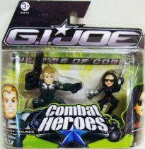 G.I.Joe Combat Heroes - The Rise of Cobra - Duke & Baroness