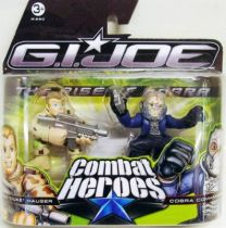 G.I.Joe Combat Heroes - The Rise of Cobra - Duke & Cobra Commander
