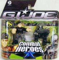 G.I.Joe Combat Heroes - The Rise of Cobra - Hawk & Cobra Viper