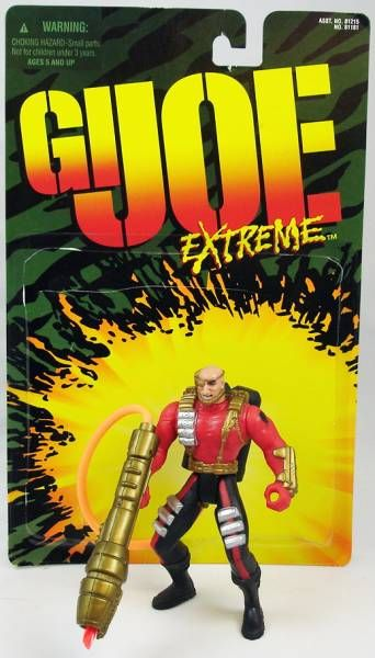 G.I.Joe Extreme - Full set of loose action figures - Kenner