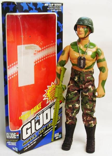G.I.JOE Hall of Fame - Duke (Combat Camo)