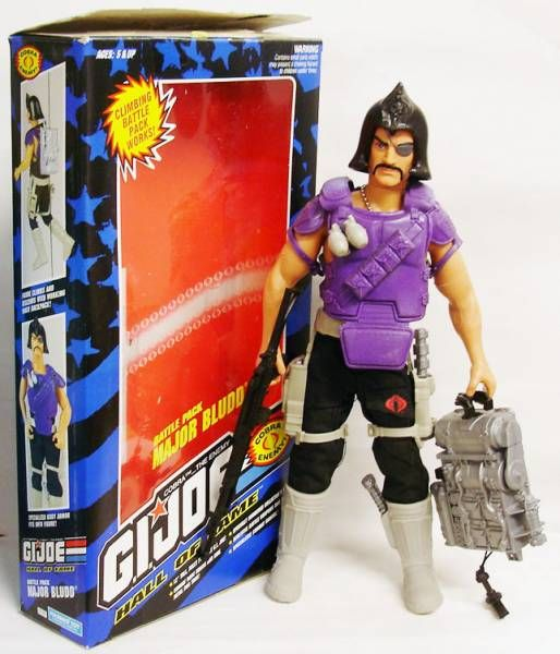 G.I.JOE Hall of Fame - Major Bludd (Battle Pack)