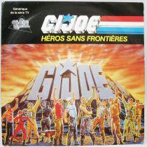 G.I.Joe Heros Sans Frontières - Mini-LP Record - Original French TV series Soundtrack - AB Kid 1989