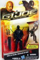 G.I.JOE Retaliation 2013 - Ninja Duel Snake Eyes