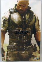 "G.I.JOE Retaliation 2013 - Roadblock (""The Rock\"" Dwayne Johnson) - Figurine 30cm Hot Toys Sideshow"