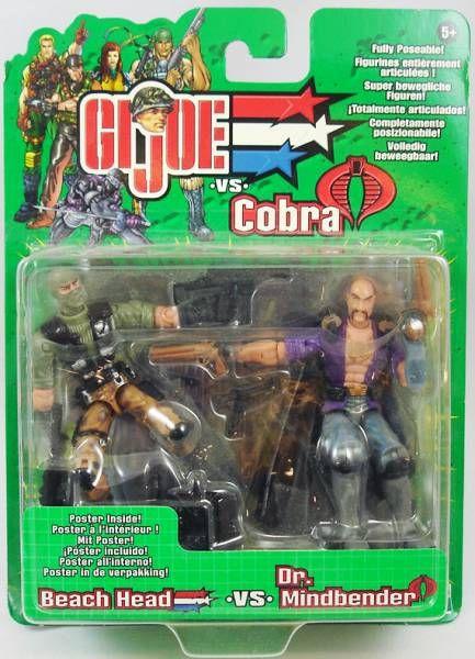 G.I.Joe vs. Cobra - 2002 - Beach Head & Dr. Mindbender