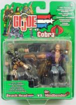 G.I.Joe vs. Cobra - 2002 - Beach Head & Dr. Mindbender