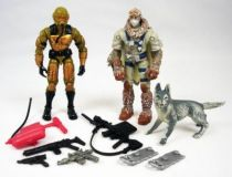 G.I.Joe vs. Cobra - 2002 - Blowtorch & Snow Serpent (loose)