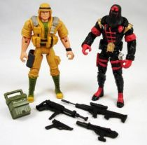 G.I.Joe vs. Cobra - 2002 - Duke & Cobra Commander \'\'repaints\'\' (loose)