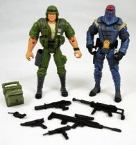 G.I.Joe vs. Cobra - 2002 - Duke & Cobra Commander (loose)