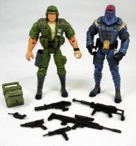 G.I.Joe vs. Cobra - 2002 - Duke & Cobra Commander (loose)