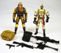 G.I.Joe vs. Cobra - 2002 - Dusty & Desert Cobra CLAWS (loose)