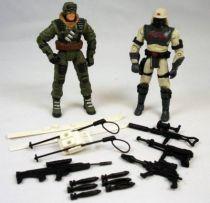 G.I.Joe vs. Cobra - 2002 - Frostbite & Neo-Viper \'\'repaints\'\' (loose)