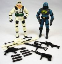 G.I.Joe vs. Cobra - 2002 - Frostbite & Neo-Viper (loose)
