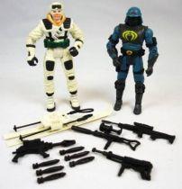 G.I.Joe vs. Cobra - 2002 - Frostbite & Neo-Viper (loose)
