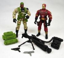 G.I.Joe vs. Cobra - 2002 - Heavy Duty & Cobra CLAWS (loose)