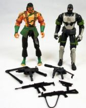 G.I.Joe vs. Cobra - 2002 - Nunchuk & Firefly (loose)