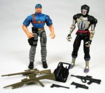 G.I.Joe vs. Cobra - 2002 - Shipwreck & Cobra B.A.T. (loose)