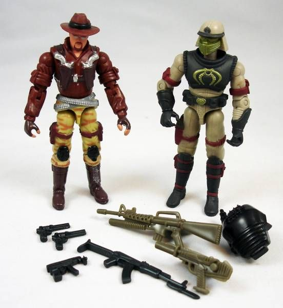 G.I.Joe vs. Cobra - 2002 - Wild Bill & Neo-Viper (loose)